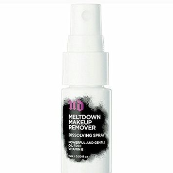UD meltdown Makeup Remover Dissolving Spray Travel size 0.05 oz OIL FREE