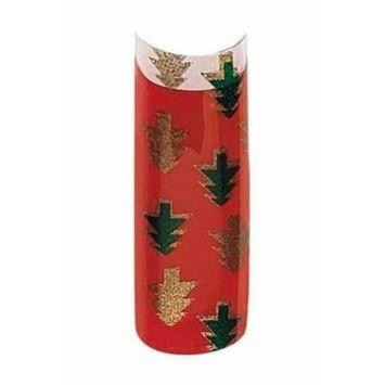 Bundle 2 Items: Cala Premium Airbrushed Nail Tips (87-782) - 70pcs + A-viva Jojoba Cuticle Oil