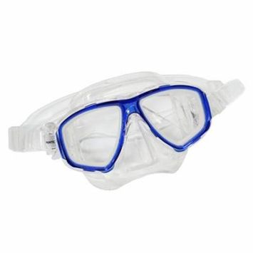 Blue Dive Mask NEARSIGHTED Prescription RX Optical Lenses (Different each eye)