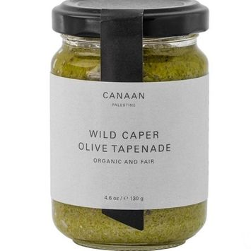 Canaan Tapenade Green Olive, 4.58 oz