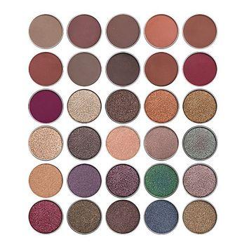 Allwon Pressed Eyeshadow Single Eyeshadow Shimmer Matte Eye Shadow Palette Magnet Palette DIY Cosmetic Make Up,0.14 Ounce