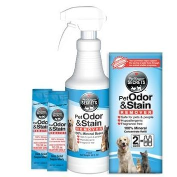 PetKeeper Secrets Odor Stain Remover 2Pack, 64oz