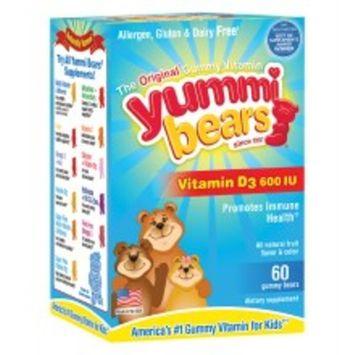 Yummi Bears Vitamin D3, Gummy Bears