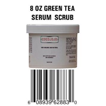 8 Oz Facial Scrub Serum to Exfoliate Dead Cells - Contains Dead Sea Mud & Green Tea and Bio Complex Active Ingredients