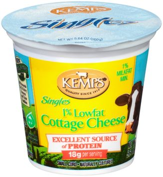 Kemps® Singles 1% Lowfat Cottage Cheese