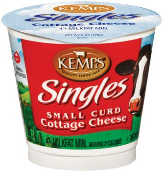 Kemps Singles Small Curd Cottage Cheese
