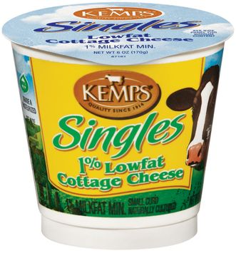 Kemps Singles 1% Lowfat Cottage Cheese