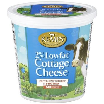 Kemps 2% Lowfat Cottage Cheese, 24 oz