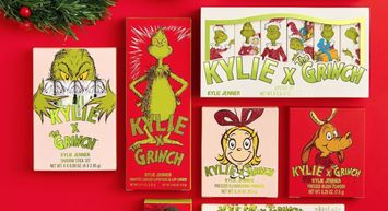 Kylie Cosmetics' 2020 Holiday Collection: Kylie x The Grinch!