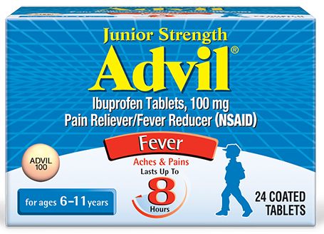 Junior Strength Advil® Tablets