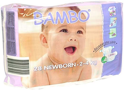 Bambo Nature Eco-Friendly Diapers Newborn