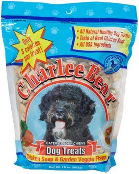 Charlee Bear Chicken Soup & Garden Veggie Dog Treats