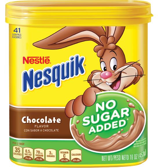 Nesquik® No Sugar Added Chocolate Flavor Powder