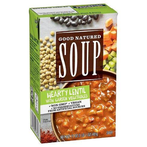 Progresso™ Good Natured Soup Hearty Lentil with Garden Vegetables Soup