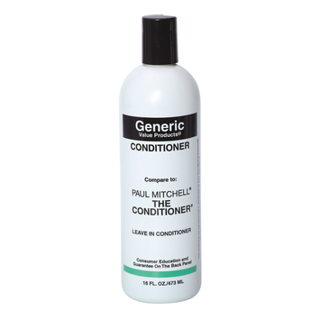 Generic Value Products Conditioner compare to Paul Mitchell The Conditioner
