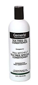 Generic Value Products Tea Tree Oil Conditioner compare to Paul Mitchell Tea Tree Special Conditioner 16 oz.