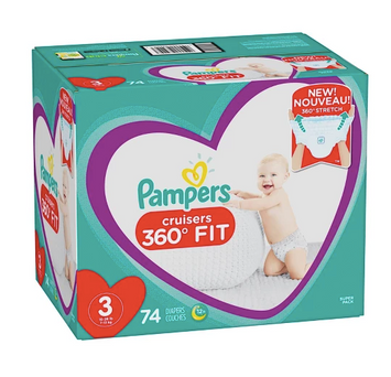 Pampers Cruisers 360° Fit Disposable Diapers