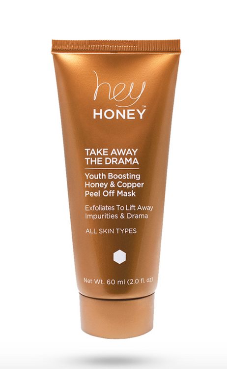 Hey Honey Youth Boosting Honey and Copper Peel Off Mask - TAKE AWAY THE DRAMA