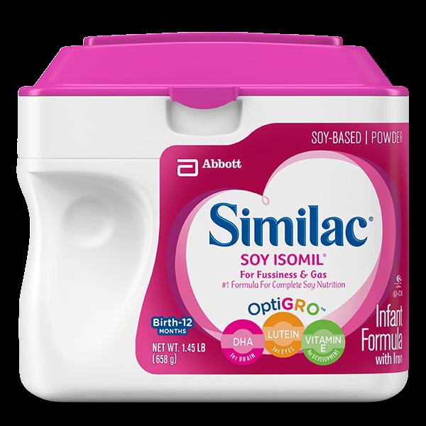 Similac Soy Isomil® Infant Formula