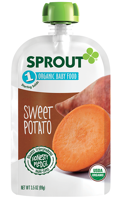 Sprout Sweet Potato Organic Baby Food