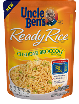 Uncle Ben's Cheddar & Broccoli Ready Rice