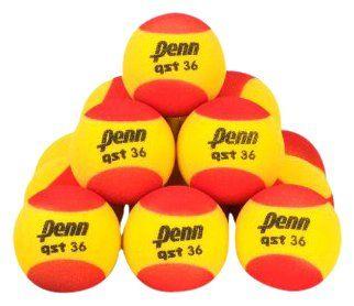 Penn QST 36 Foam Red Tennis Balls