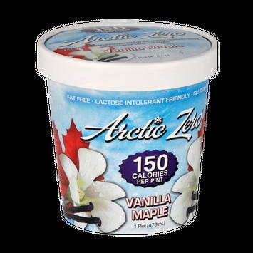 Arctic Zero Fat Free Vanilla Maple Frozen Dessert