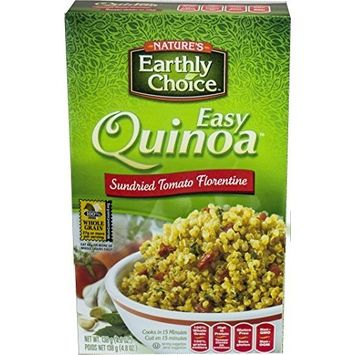 Nature's Earthly Choice Organic Easy Quinoa Sun Dried, Tomato Florentine, 4.8 Ounce