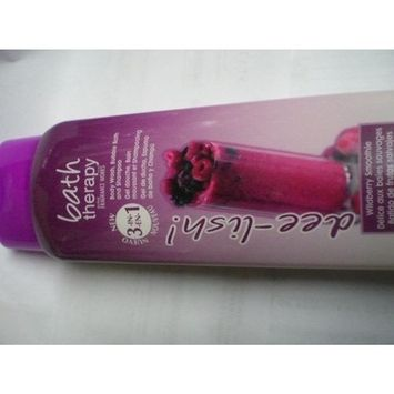 Belcam Bath Therapy 3-In-1 Wildberry Smoothie Body Wash, Bubble Bath, and Shampoo, 16.8 Fluid Ounce