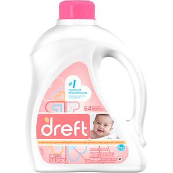 Dreft 2X Ultra Baby HE Liquid Laundry Detergent