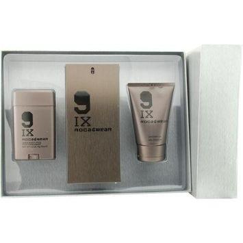 9ix Rocawear By Jay-Z For Men Edt Spray 3.4 Oz & Shower Gel 3.4 Oz & Deodorant Stick 2.6 Oz