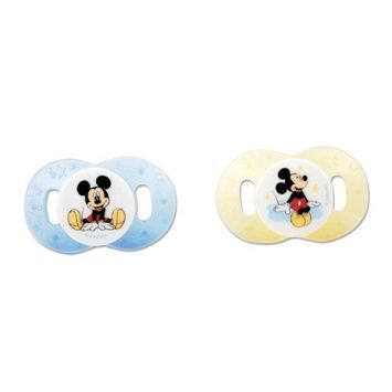 The First Years 2 Pack Mickey Newborn Pacifier (Discontinued by Manufacturer)