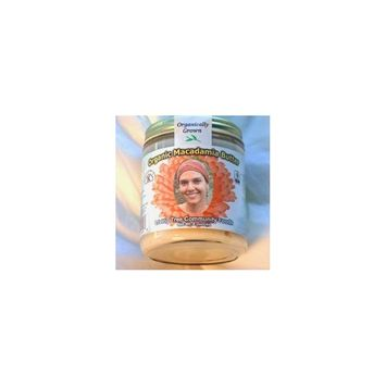 Living Tree Community Foods Raw Organic Macadamia Nut Butter - 8oz.