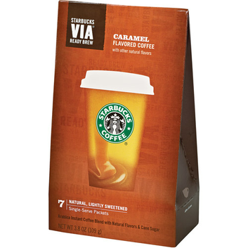 STARBUCKS® Caramel VIA® Ready Brew