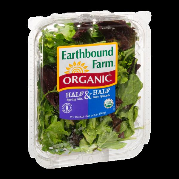 Earthbound Farm Organic Half Spring Mix & Half Baby Spinach