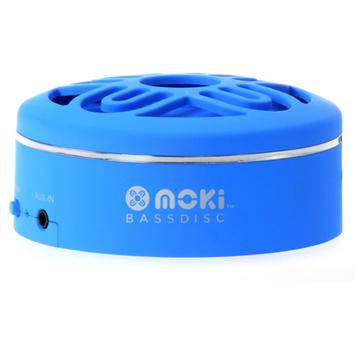 Moki BassDisc Bluetooth Speaker, Assorted Colors
