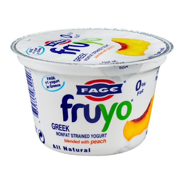 Fage Fruyo Greek Nonfat Strained Yogurt Blended with Peach
