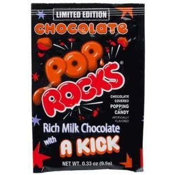 Pop Rocks Chocolate 0.33 oz pack of 24