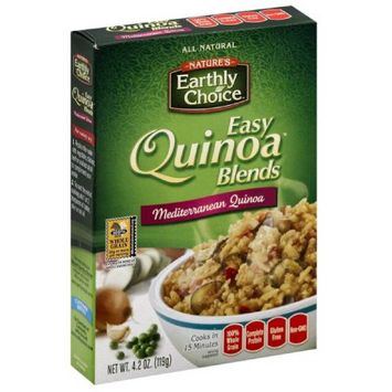 Natures Earthly Choice Nature's Earthly Choice Easy Quinoa Blends Mediterranean Quinoa, 4.2 oz, (Pack of 6)