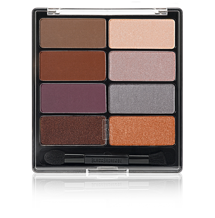 Black Radiance Eye Appeal™ Shadow Collection - Downtown Browns