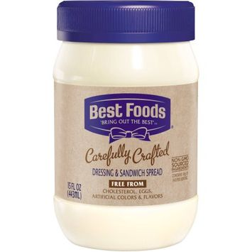Best Foods Carefully Crafted Dressing and Sandwich Spread