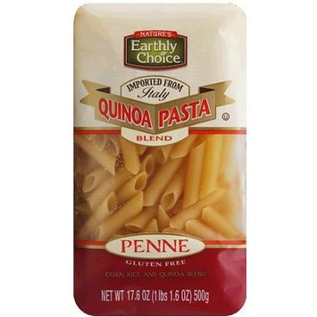 Natures Earthly Choice Nature's Earthly Choice Quinoa Penne Pasta, 17.6 oz, (Pack of 6)