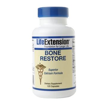 Life Extension Bone Restore Superior Calcium Formula, Capsules