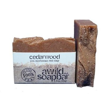 A Wild Soap Bar Cedarwood Organic Bar Soap