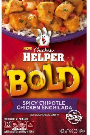 Betty Crocker™ Bold Spicy Chipotle Chicken Enchilada Chicken Helper