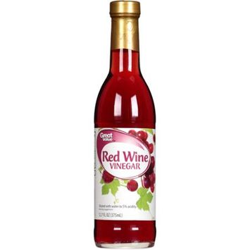 Great Value: Fine Red Wine Vinegar, 12.7 Oz