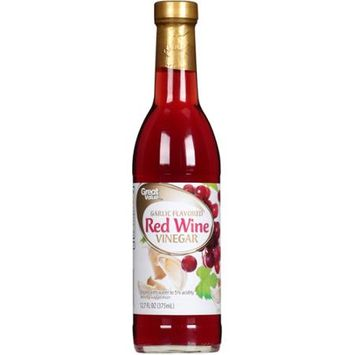 Great Value: Garlic Flavored Fine Red Wine Vinegar, 12.7 Oz