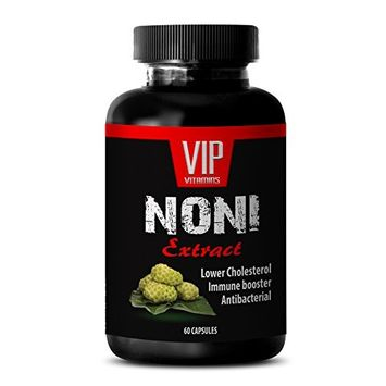 Noni supplement - NONI EXTRACT - Anti stress supplement - 1 Bottle 60 Capsules