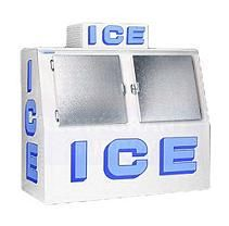 Polar Temp 600 Outdoor Ice Merchandiser w/ Slant Front (63 cu. ft.)