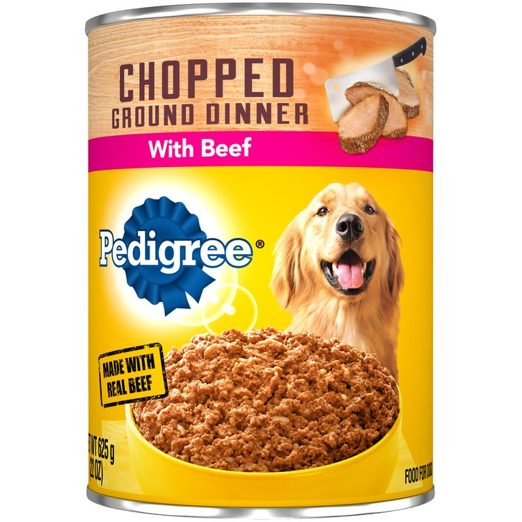 Pedigree® Chopped Ground Dinner With Beef Wet Dog Food